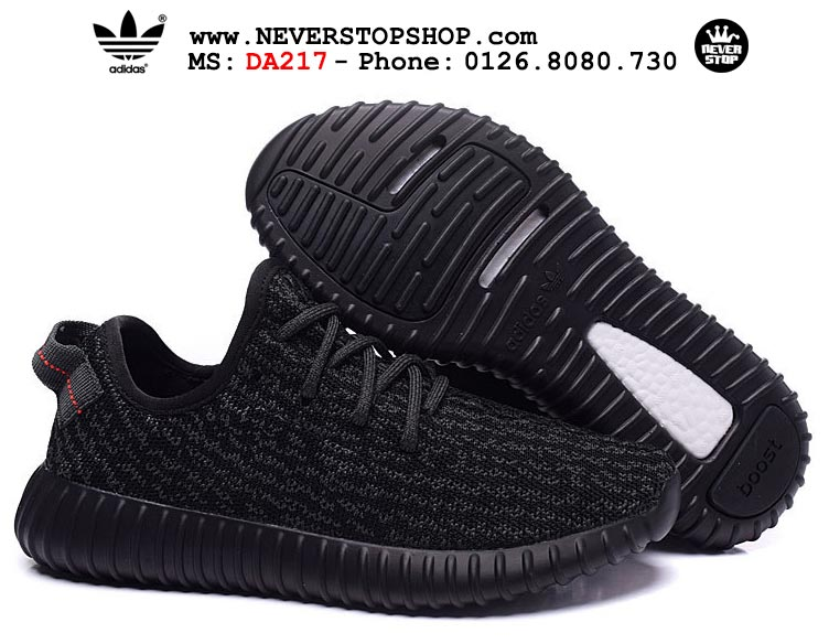 DA217-GIÀY ADIDAS YEEZY 350 PIRATE BLACK