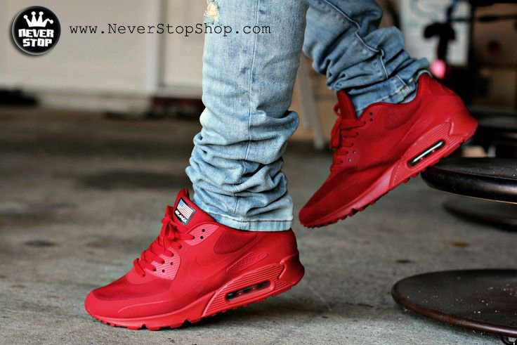 Giày Nike air max 90 independence day (Ảnh 7)