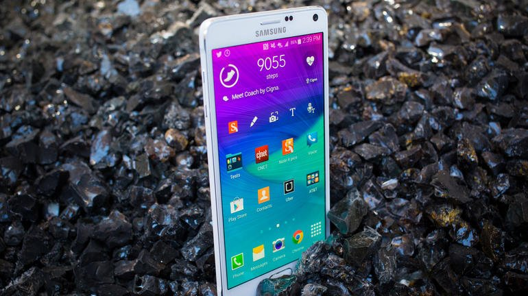 Samsung Galaxy Note 4 (Samsung SM-N910C/ Galaxy Note IV) Frosted White For Asia, Europe, South America (Ảnh 4)