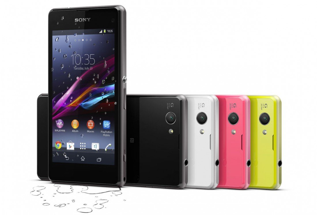 Sony Xperia Z1 Compact D5503 Lime (Ảnh 1)