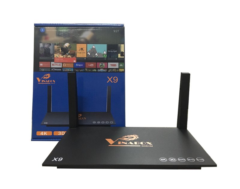 Android TV Box VINABOX X9 - RAM 2G, ANDROID 5.1, 4K@60FPS (Ảnh 9)