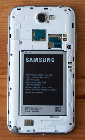 Samsung Galaxy Note II (Galaxy Note 2/ Samsung N7100 Galaxy Note II) Phablet 32Gb Titanium Gray (Ảnh 5)