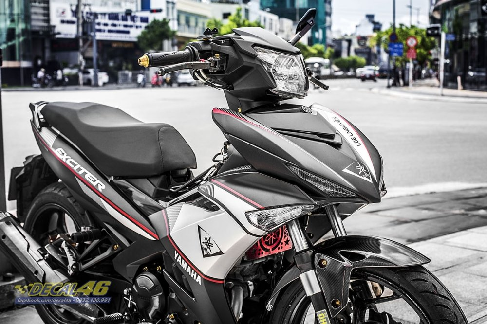 Tem xe Exciter 150 Limited Edition trắng đen (Ảnh 3)