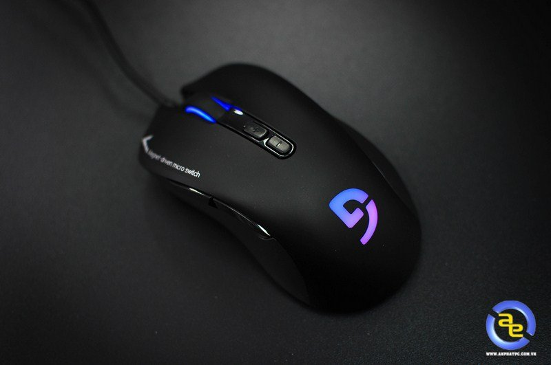 Chuột chơi game Mouse Fuhlen Nine series G90 Pro Gaming Black USB (Ảnh 1)