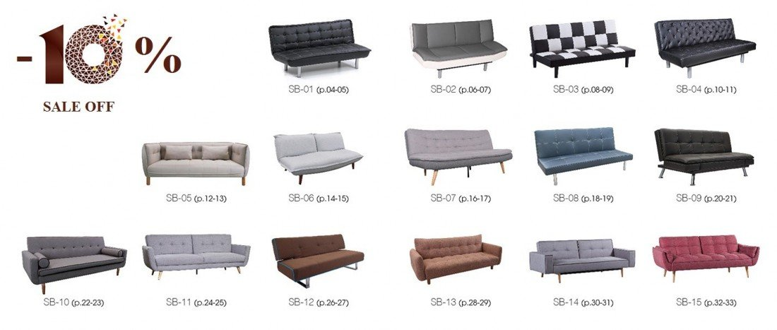 Sofa bed 2in1 SB-02 (Ảnh 2)