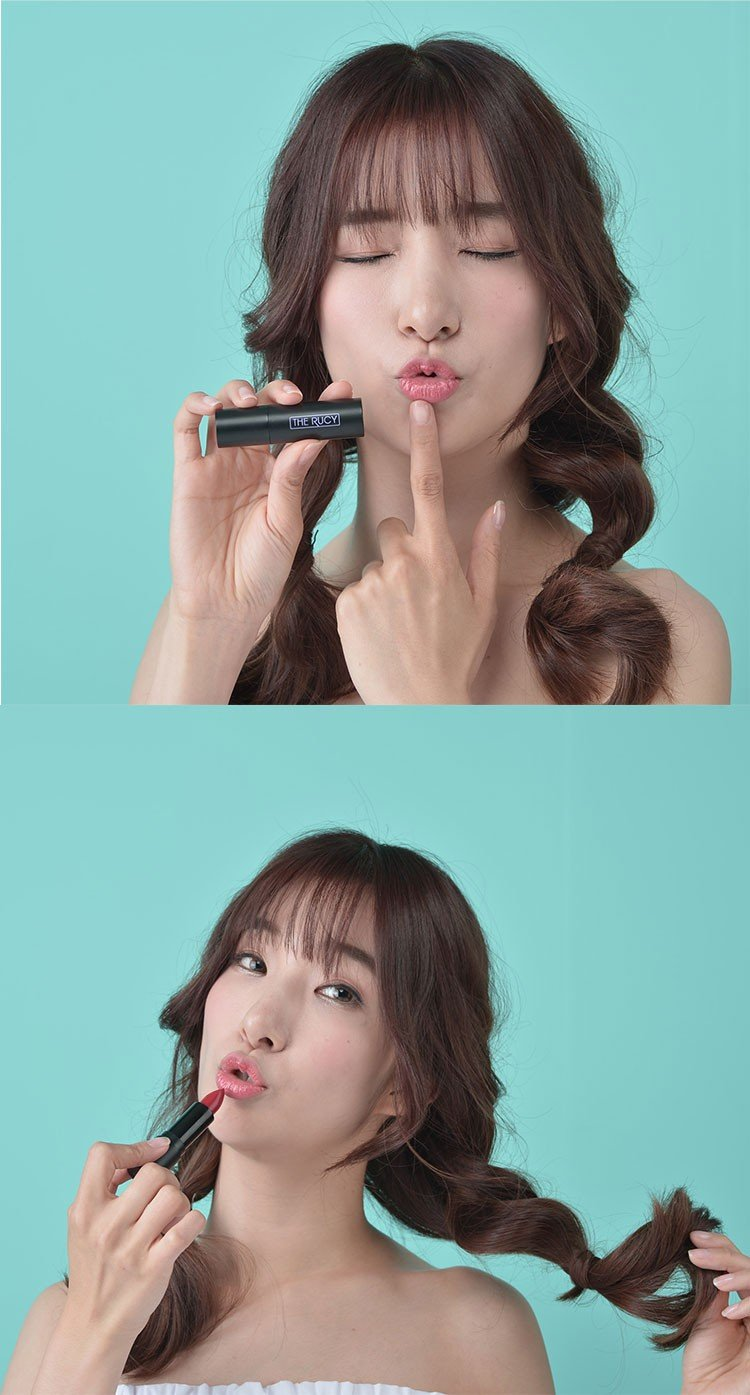 Son Matte The Rucy Blooming Lipstick Apple Red (Ảnh 7)