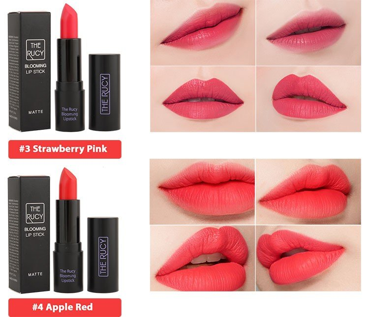 Son Matte The Rucy Blooming Lipstick Cherry Red (Ảnh 5)