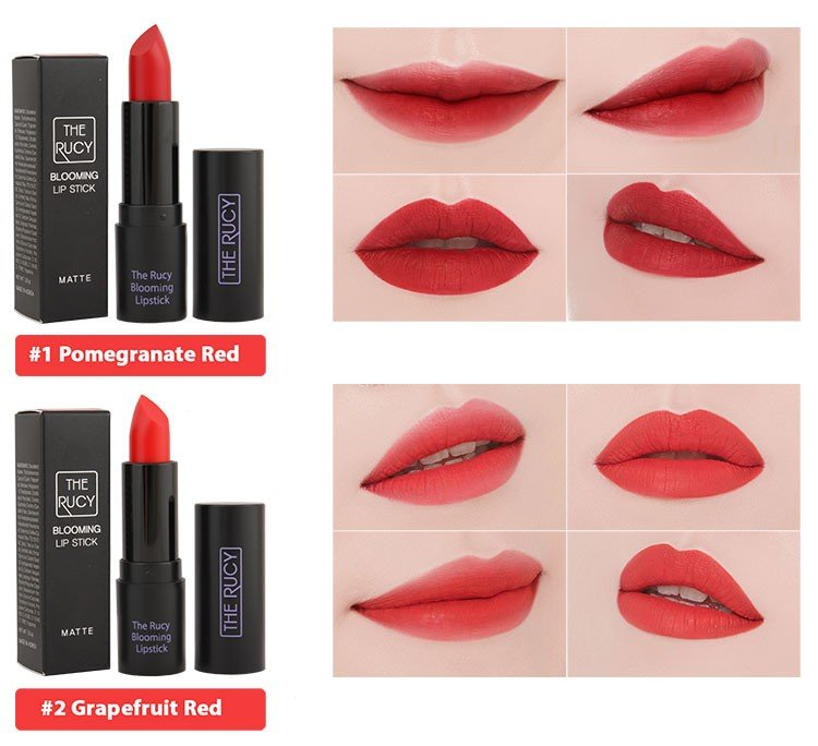 Son Matte The Rucy Blooming Lipstick Cherry Red (Ảnh 6)