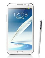 Samsung Galaxy Note II (Galaxy Note 2/ Samsung N7100 Galaxy Note II) Phablet 64Gb Marble White