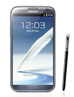 Samsung Galaxy Note II (Galaxy Note 2/ Samsung N7100 Galaxy Note II) Phablet 16Gb Titanium Gray (For Verizon)