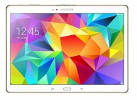 Samsung Galaxy Tab S 10.5 (SM - T805) (Quad-Core 2.3 GHz, 3GB RAM, 16GB Flash Driver, 10.5 inch, Android OS v4.4.2) WiFi, 4G LTE Model Dazzling White