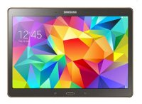 Samsung Galaxy Tab S 10.5 (SM - T805) (Quad-Core 2.3 GHz, 3GB RAM, 32GB Flash Driver, 10.5 inch, Android OS v4.4.2) WiFi, 4G LTE Model Titanium Bronze