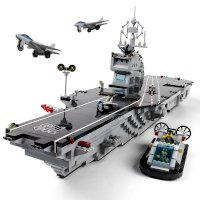 Lắp Ráp Tàu Sân Bay - Aircraft Carrier Enlighten 113